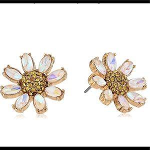 Betsey Johnson Women's Daisy Stud Earrings